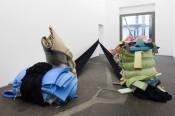 Jonathan Binet, Sonia Kacem, 2015. Exhibition view with Sonia Kacem, Bermuda Triangle.Photo: Kunst Halle Sankt Gallen, Gunnar Meier.