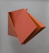 Hélio Oiticica, Relevo Espacial (Vermêlho) (Spatial Relief [red] REL 036), 1959. © Tate, London, 2014.