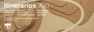 Wilfredo Prieto,Viaje infinito (detail).Scaled model in cardboard,300 x 200 cm.