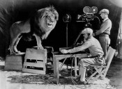 Jackie's roar is recorded by MGM for use at the beginning of the studio's talking movies, December 28, 1928.