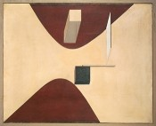El Lissitzky, Proun P23 no. 6, 1919. Collection Van Abbemuseum. Photo: Peter Cox.