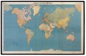 Marcel Broodthaers, Carte du monde poétique, 1968.