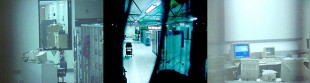 Waihopai Station secure communications facility, 1990s. Photo: Nicky Hager.