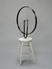 Marcel Duchamp, Roue de bicyclette (Bicycle Wheel), 1913/1960/1976. © Succession Marcel Duchamp/BUS 2015.