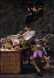 Yinka Shonibare MBE, The Sleep of Reason Produces Monsters (America), 2008. © Yinka Shonibare, MBE. Courtesy of James Cohan Gallery, New York and Shanghai.*