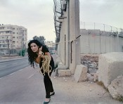Raeda Saadeh, Moving, 2012. Courtesy Raeda Saadeh & Rose Issa Projects.