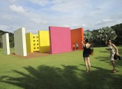 ICI Curatorial Intensive: Instituto Inhotim, Minas Gerais, Brazil, April 22–28, 2012.