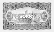 Filip Markiewicz, Sorry, 2015. Pencil on paper, 250 x 150 cm. © the artist.
