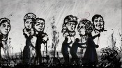 William Kentridge, More Sweetly Play the Dance (still), 2015. Video.
