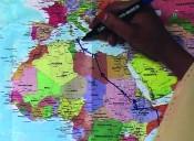 Bouchra Khalili, Mapping Journey #4, 2010. Collection FRAC Provence-Alpes-Côte d'Azur. © ADAGP, Paris 2015.