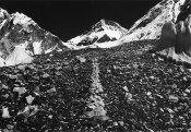 Richard Long, A Line in the Himalayas, 1975. Photo: Richard Long. All rights reserved, DACS 2015.