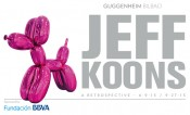 Jeff Koons, Balloon Dog (Magenta), 1994–2000. Mirror-polished stainless steel with transparent color coating 307.3 x 363.2 x 114.3 cm. One of five unique versions. Collection Pinault. © Jeff Koons.