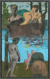 Sans titre, 2013. © Galerie Michael Werner, Märkisch Wilmersdorf, Jochen Littkemann, and ADAGP, 2015.