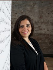 Reem Fadda, curator of the 6th Marrakech Biennale. Photo: Sophia Dadourian.