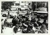 Siyahlı Kadınlar, Women in Black, 1989. Archive: Murat Çelikkan.
