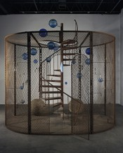 Louise Bourgeois, Cell (The Last Climb), 2008.*