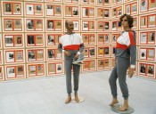 Hanne Darboven, Kulturgeschichte 1880–1983 (Cultural History 1880–1983), 1980–83. Installation view, DIA:Chelsea, Dia Art Foundation, New York. Photo: Cathy Carver, 1996.© Hanne Darboven Stiftung, Hamburg / VG Bild-Kunst, Bonn 2015.