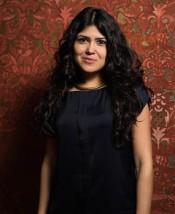 Curator of CONTOUR 8, Natasha Ginwala. Photo: Mark Blower.