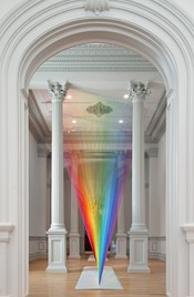 Gabriel Dawe, Plexus A1, 2015. Renwick Gallery of the Smithsonian American Art Museum. Courtesy Conduit Gallery. Photo: Ron Blunt.