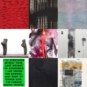 Top left to right: Jennifer Guidi, Glenn Ligon, Dashiell Manley, Shana Lutker, Mary Weatherford, Amanda Ross-Ho, James Welling, Anthony Pearson, Wade Guyton.*