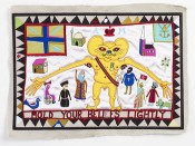 Grayson Perry, Hold Your Beliefs Lightly, 2011. Collection the artist.