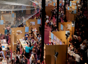 Melbourne Art Book Fair 2015 at National Gallery of Victoria. CourtesyNational Gallery of Victoria.