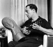 Buster Keaton, c. 1930. Photo: George Hurrell.