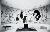 Les Plongeurs in the living room of Wallace K. Harrison. Installation view. Courtesy of Galerie Gmurzynska. © VG Bild-Kunst, Bonn 2016.