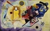 Vassily Kandinsky, Gelb-Rot-Blau(Yellow-Red-Blue), 1925. Oil on canvas, 128 x 201.5 cm. Donation Nina Kandinsky, 1976. Inventory number: AM 1976-856. © Centre Pompidou, MNAM-CCI, Dist. RMN-Grand Palais / Adam Rzepka.