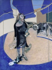 Francis Bacon,Portrait of Isabel Rawsthorne Standing in a Street in Soho,1967. © The Estate of Francis Bacon. All rights reserved. DACS 2016. Photo: Prudence Cuming Associates Ltd.