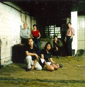 Founders of Para Site (From left to right):Patrick Lee, Leung Chi-wo, Phoebe Man Ching-ying, Sara Wong Chi-hang, Leung Mee-ping, andTsang Tak-ping (not in the picture, Lisa Cheung). Courtesy Para Site.
