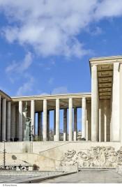 View of Musée d'Art moderne de la Ville de Paris. Photo:Pierre Antoine.