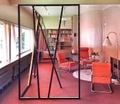 View of Eva Rothschild,Sonneveld House, Rotterdam, 2016.Photo: Taco de Neef.