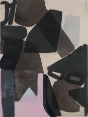 Amy Sillman,Panorama, 2015/2016.1 from a series of 24. Courtesy of the artist and Capitain Petzel, Berlin.