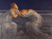 Gaetano Previati, Notturno o il Silenzio (Night or Silence), 1908. CourtesyFondazione il Vittoriale degli Italiani.