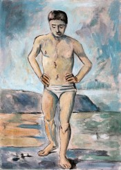 Paul Cézanne,The Bather, 2013.Collection of the Museum of American Art in Prishtina.