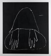 Andrea Büttner, Beggar, 2015.Courtesy Hollybush Gardens, London and David Kordansky Gallery, Los Angeles.© Andrea Büttner / VG Bild-Kunst, Bonn 2016.Photo: Jaka Babnik.