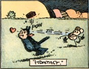 George Herriman,Krazy Kat (detail), 1913.Private collection.