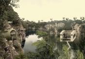 Aristide Antonas, Landscape with Crane Rooms and Keg Apartments, (Ubin Quarry in Singapore).Courtesy of Aristide Antonas.