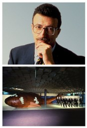 Top: Marco Rivetti. Bottom:Frank O. Gehry, The GFT Fish, 1985–86.