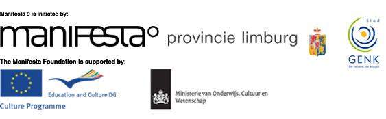 Announces host, curator and associate curators of Manifesta 9 in 2012